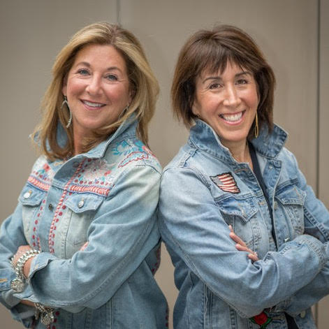 Off Our Rocker Cookies founders: Terri + Nanci